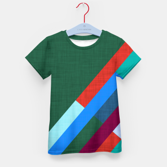 Thumbnail image of Meridian Green Kid's t-shirt, Live Heroes