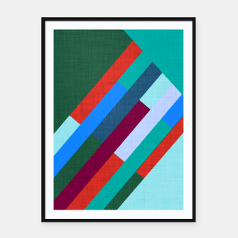 Thumbnail image of Meridian Green Framed poster, Live Heroes