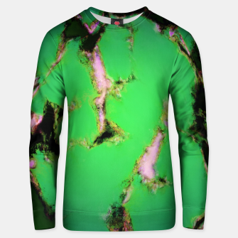 Soft green shatter Unisex sweater thumbnail image