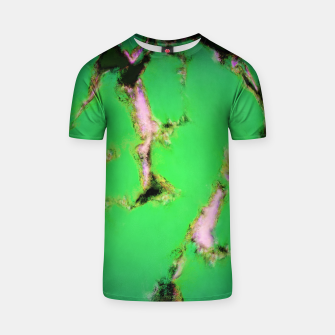 Soft green shatter T-shirt thumbnail image