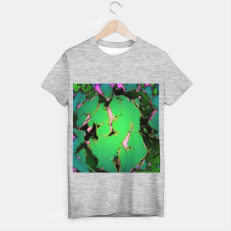 Soft green shatter T-shirt regular thumbnail image