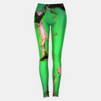 Soft green shatter Leggings thumbnail image