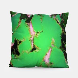 Soft green shatter Pillow thumbnail image
