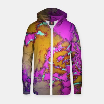 Thumbnail image of Evening gardens 2 Zip up hoodie, Live Heroes