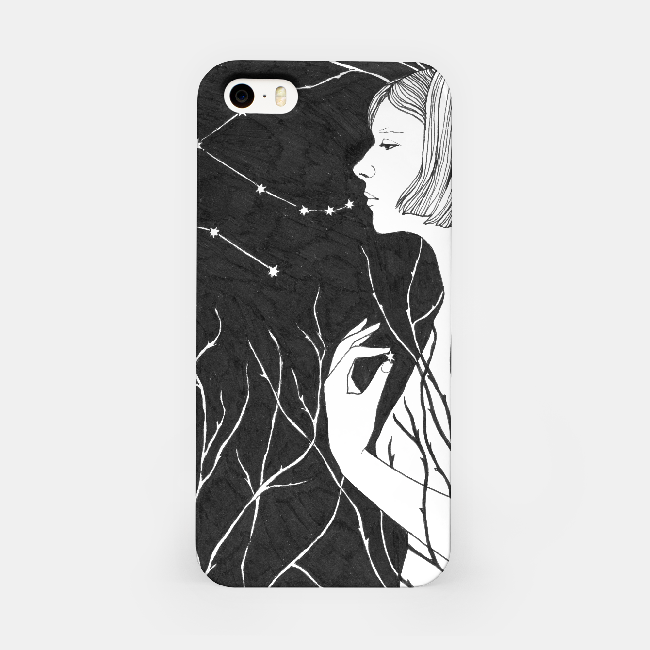Image of Under Stars (Aurora Aksnes) iPhone Case - Live Heroes