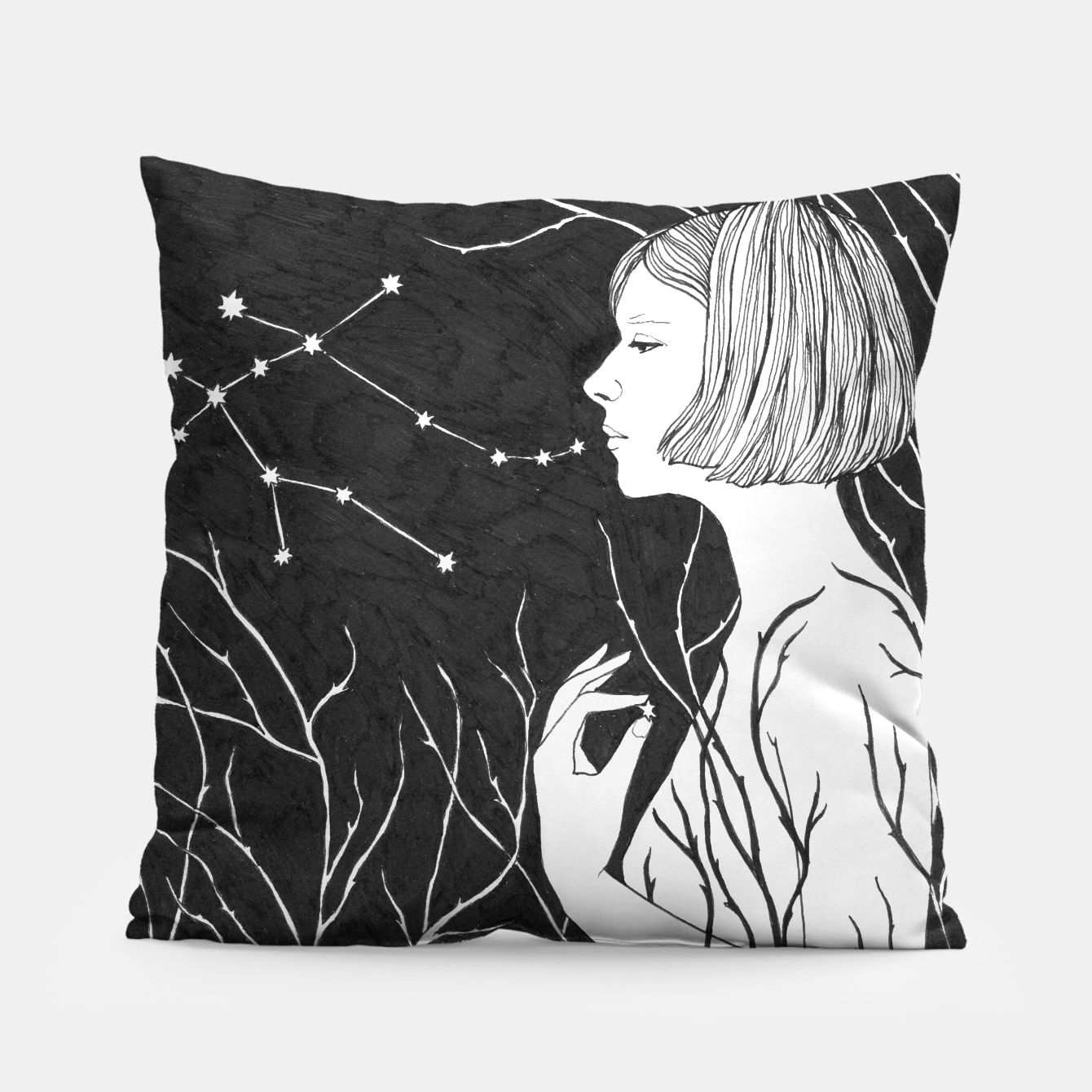 Image of Under Stars (Aurora Aksnes) Pillow - Live Heroes
