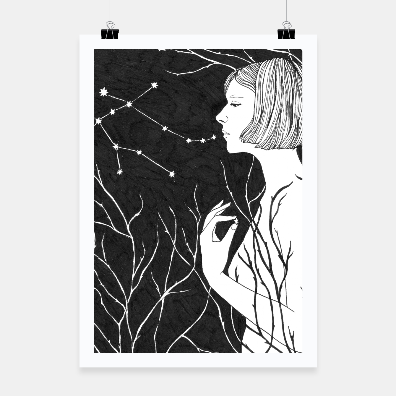 Image of Under Stars (Aurora Aksnes) Poster - Live Heroes