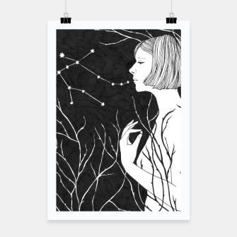 Thumbnail image of Under Stars (Aurora Aksnes) Poster, Live Heroes