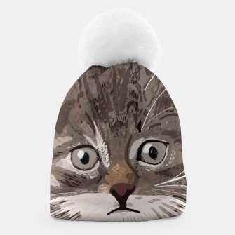 Miniatur Cute lovely cat with stars Beanie, Live Heroes