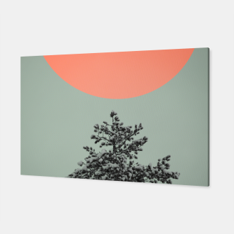 Miniatur Snowy pine tree Canvas, Live Heroes