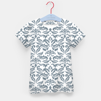 Thumbnail image of Classy vintage pattern A Kid's t-shirt, Live Heroes