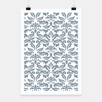 Miniatur Classy vintage pattern A Poster, Live Heroes