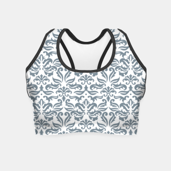 Miniatur Classy vintage pattern A Crop Top, Live Heroes