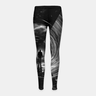 Thumbnail image of Spacetime Girl's leggings, Live Heroes