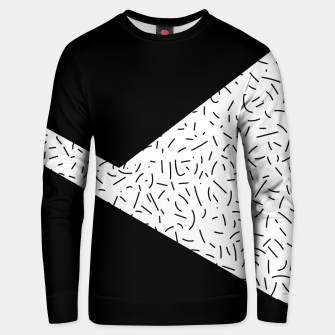 Thumbnail image of Speckled Black III Unisex sweater, Live Heroes