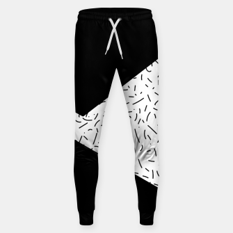 Thumbnail image of Speckled Black III Sweatpants, Live Heroes