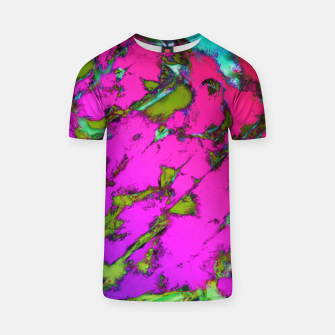 Thumbnail image of Shattering pink tigers T-shirt, Live Heroes