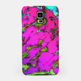 Thumbnail image of Shattering pink tigers Samsung Case, Live Heroes