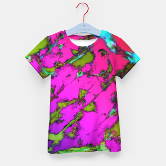 Thumbnail image of Shattering pink tigers Kid's t-shirt, Live Heroes