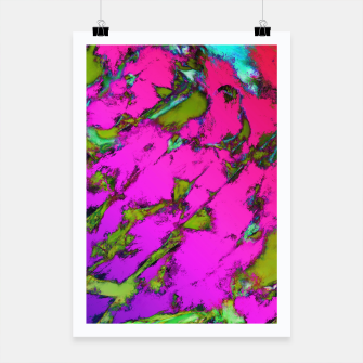 Thumbnail image of Shattering pink tigers Poster, Live Heroes