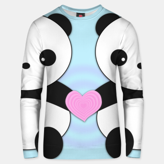 Thumbnail image of Pandas in Love Unisex sweater, Live Heroes