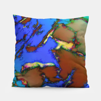 Isolated places 2 Pillow thumbnail image