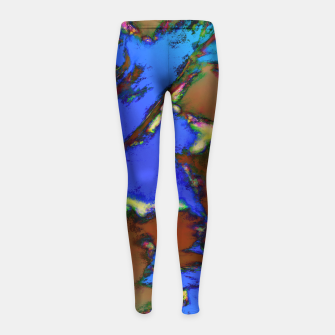 Isolated places 2 Girl's leggings thumbnail image