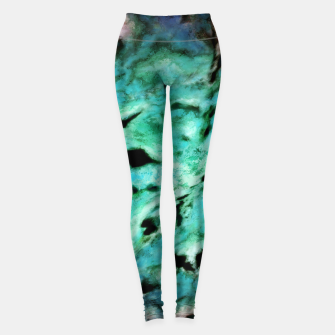 Thumbnail image of Smash smash turquoise Leggings, Live Heroes