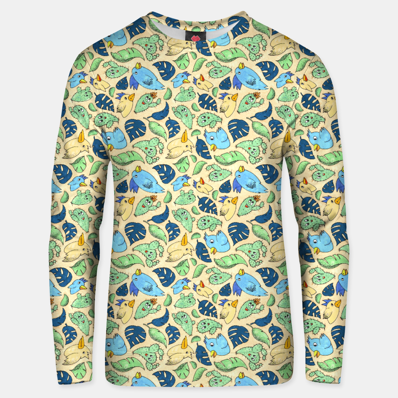 Image of Birds and Plants – Unisex sweater - Live Heroes