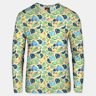 Birds and Plants – Unisex sweater thumbnail image