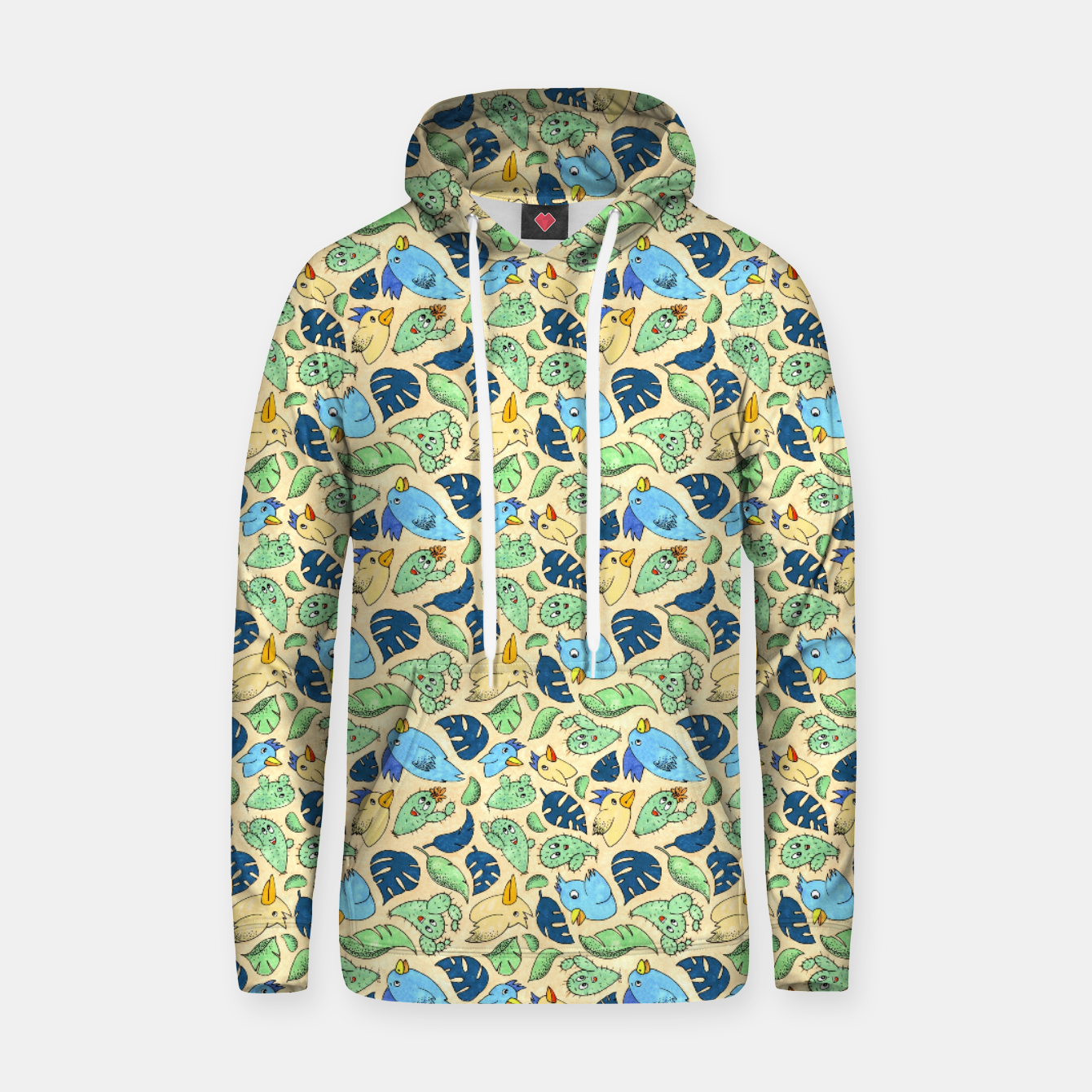 Image of Birds and Plants – Hoodie - Live Heroes