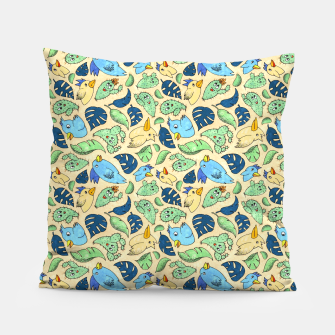 Thumbnail image of Birds and Plants – Pillow, Live Heroes