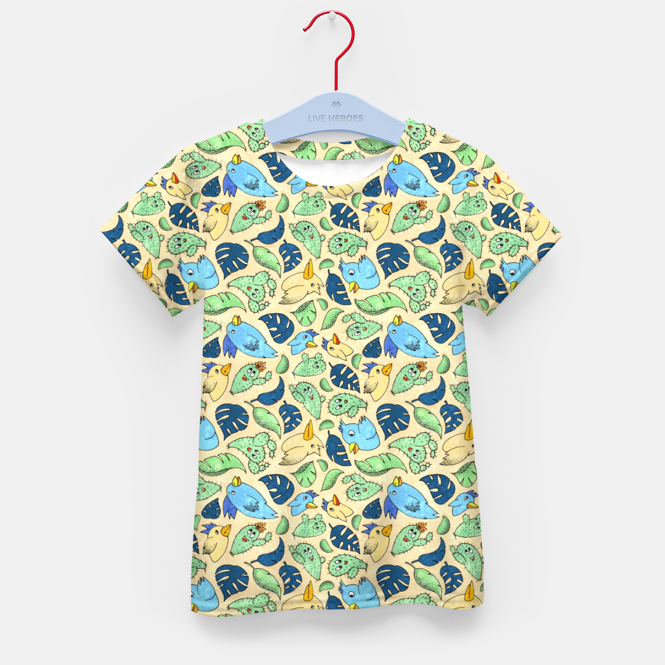 Image of Birds and Plants – Kid's t-shirt - Live Heroes