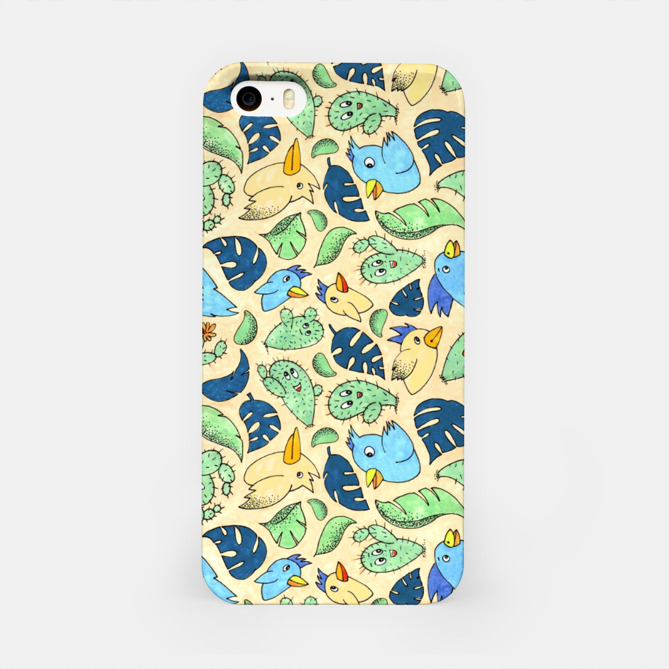 Image of Birds and Plants – iPhone Case - Live Heroes
