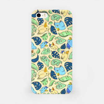 Birds and Plants – iPhone Case thumbnail image