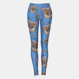 Thumbnail image of Give me love - pattern Leggings, Live Heroes