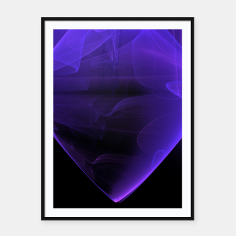 Thumbnail image of Magic stone Framed poster, Live Heroes