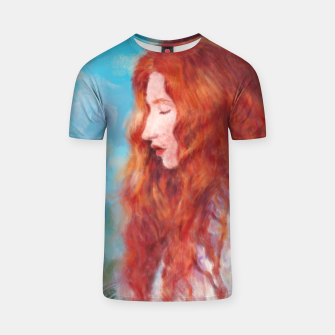 Thumbnail image of Kissed By Fire T-shirt, Live Heroes