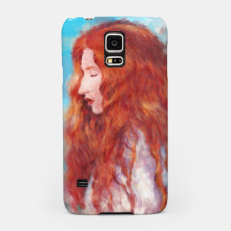 Thumbnail image of Kissed By Fire Samsung Case, Live Heroes