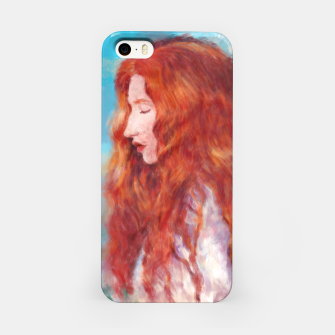 Thumbnail image of Kissed By Fire iPhone Case, Live Heroes
