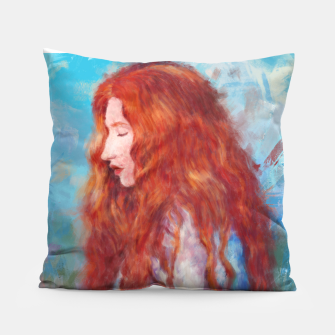 Thumbnail image of Kissed By Fire Pillow, Live Heroes