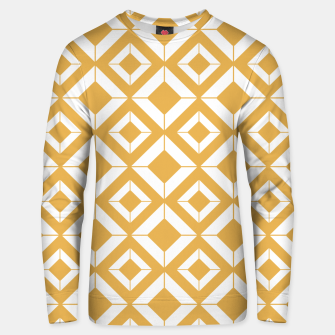 Miniaturka Abstract geometric pattern - bronze and white. Unisex sweater, Live Heroes