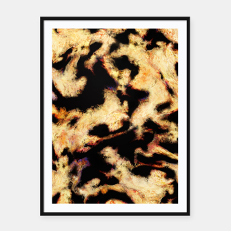 Thumbnail image of Eroding the thought Framed poster, Live Heroes