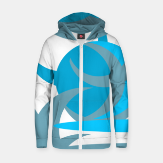 Thumbnail image of IcyBlue Zip up hoodie, Live Heroes