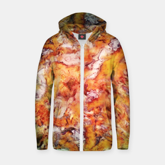Thumbnail image of Floral escalator Zip up hoodie, Live Heroes