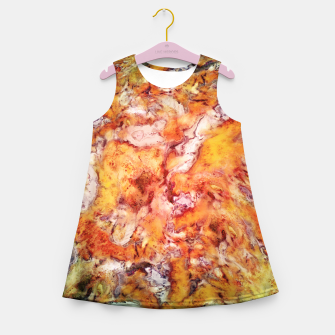 Thumbnail image of Floral escalator Girl's summer dress, Live Heroes