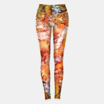 Thumbnail image of Floral escalator Leggings, Live Heroes