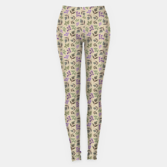 Miniaturka Winter Foliage Leggings, Live Heroes