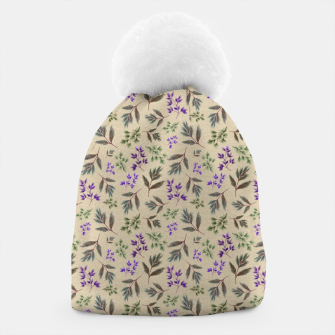 Thumbnail image of Winter Foliage Beanie, Live Heroes