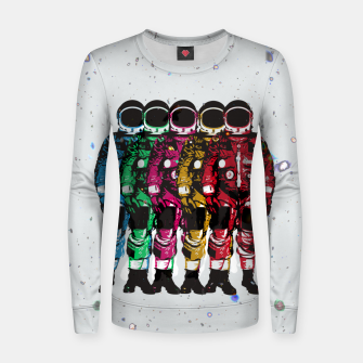 Thumbnail image of Dudes II Women sweater, Live Heroes